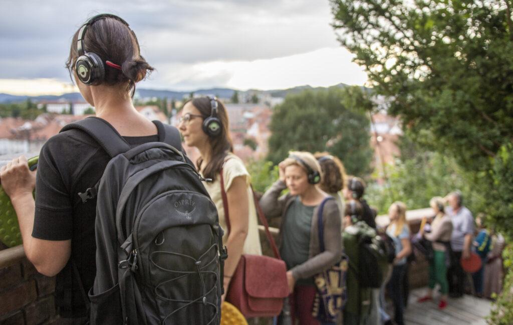IRENA PIVKA, Topografije zvoka, 6. 8. 2021, foto Urška Savič
