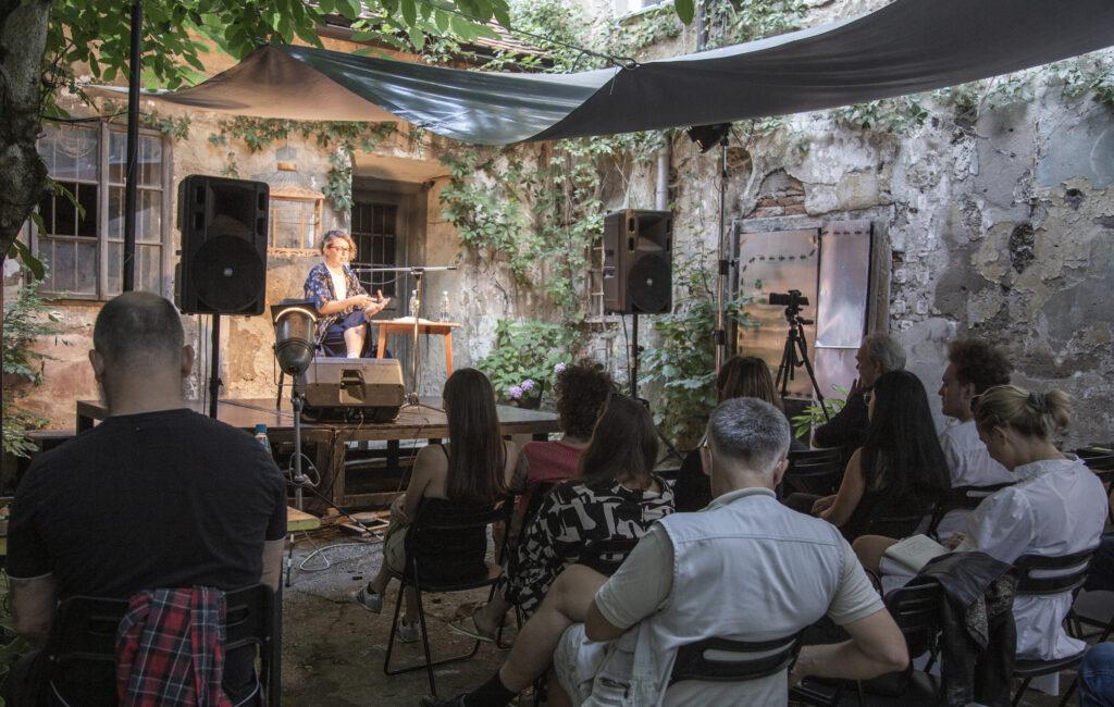 DEJA CRNOVIĆ, Topografije zvoka, 6. 8. 2021, foto Urška Savič